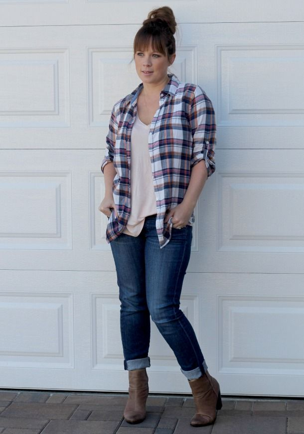 Style: Show Me Your Plaid via @Alissa Evans Circle