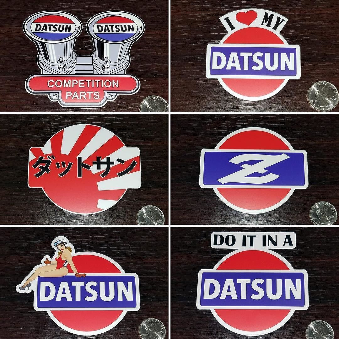 Datsun Decals Now Available At The Garage Store All Good In Stock