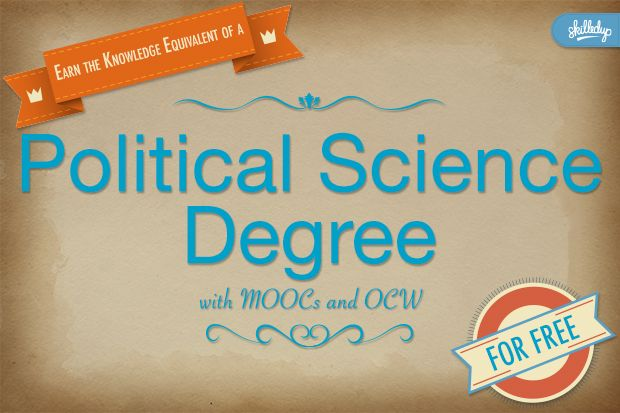Free political science degree knowledge board pinterest try our free degree series so you can use moocs to give yourself the knowledge equivalent of a traditional degree solutioingenieria Gallery