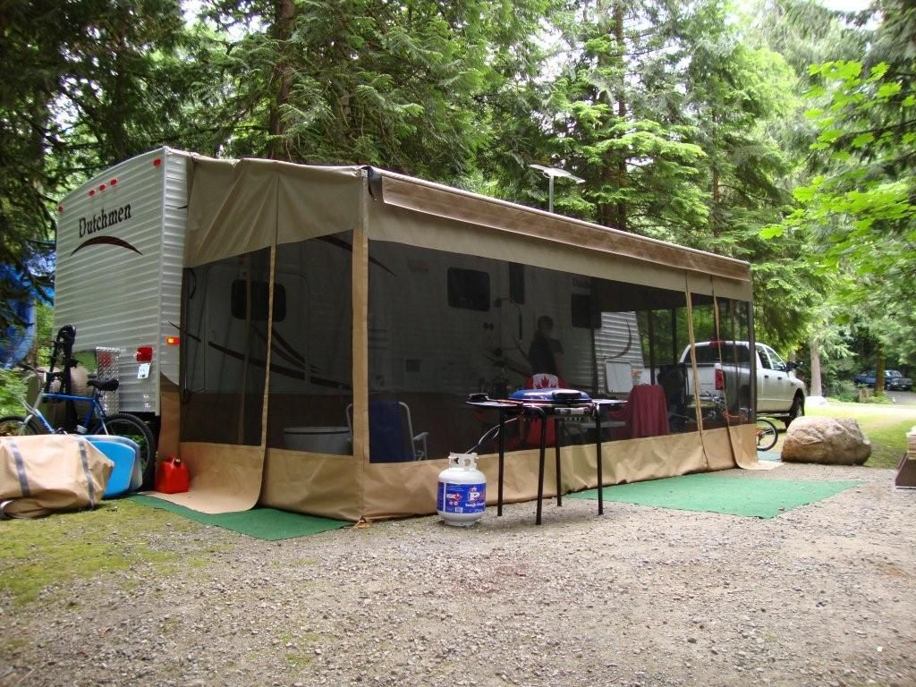 How to create an RV awning room | Travel trailer ideas | Pinterest | Rv Create and Room & How to create an RV awning room | Travel trailer ideas | Pinterest ...