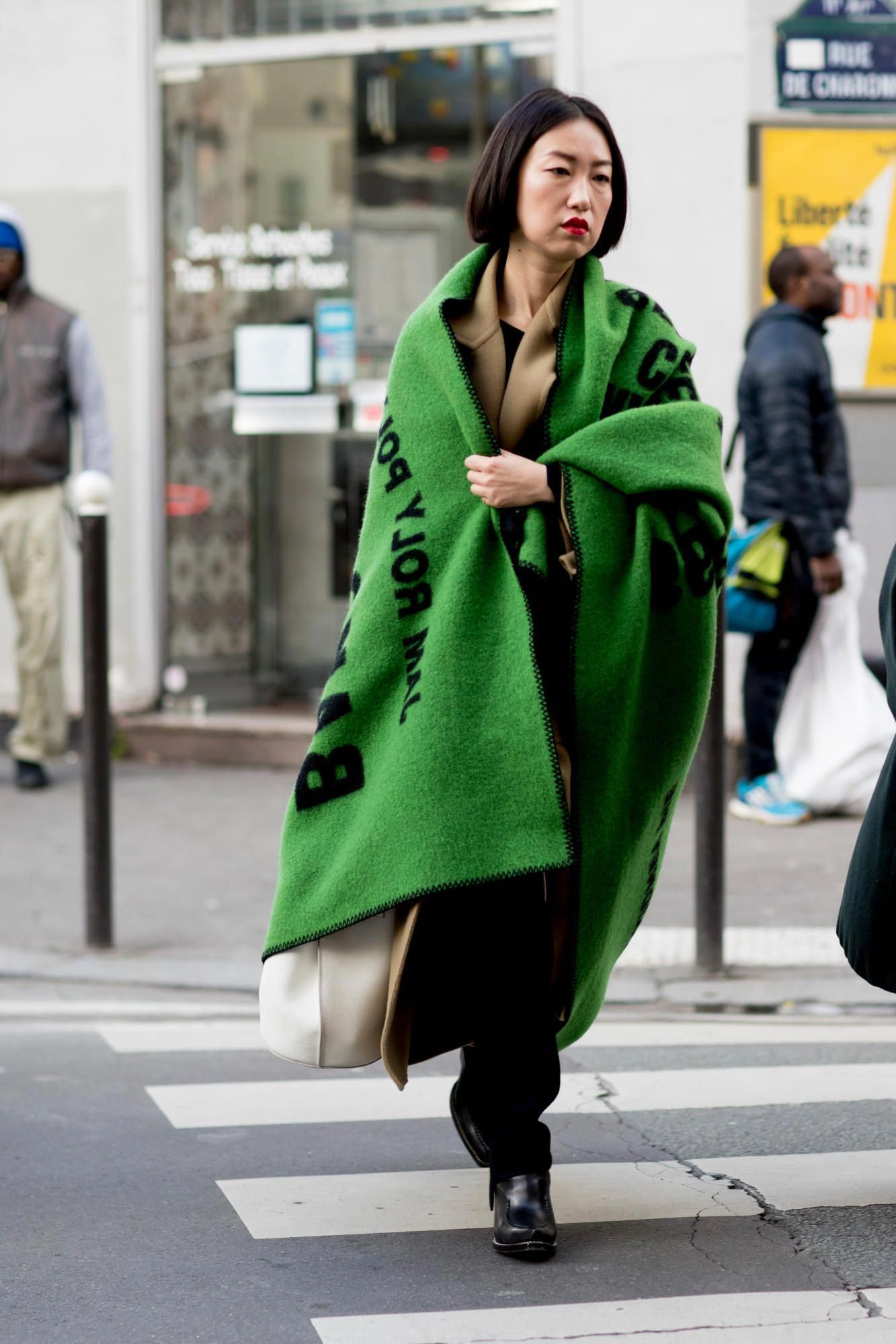 The Street Style Crowd at Paris Men s Fashion Week Brought Back the Bucket  Hat - Fashionista f13a62bea16d