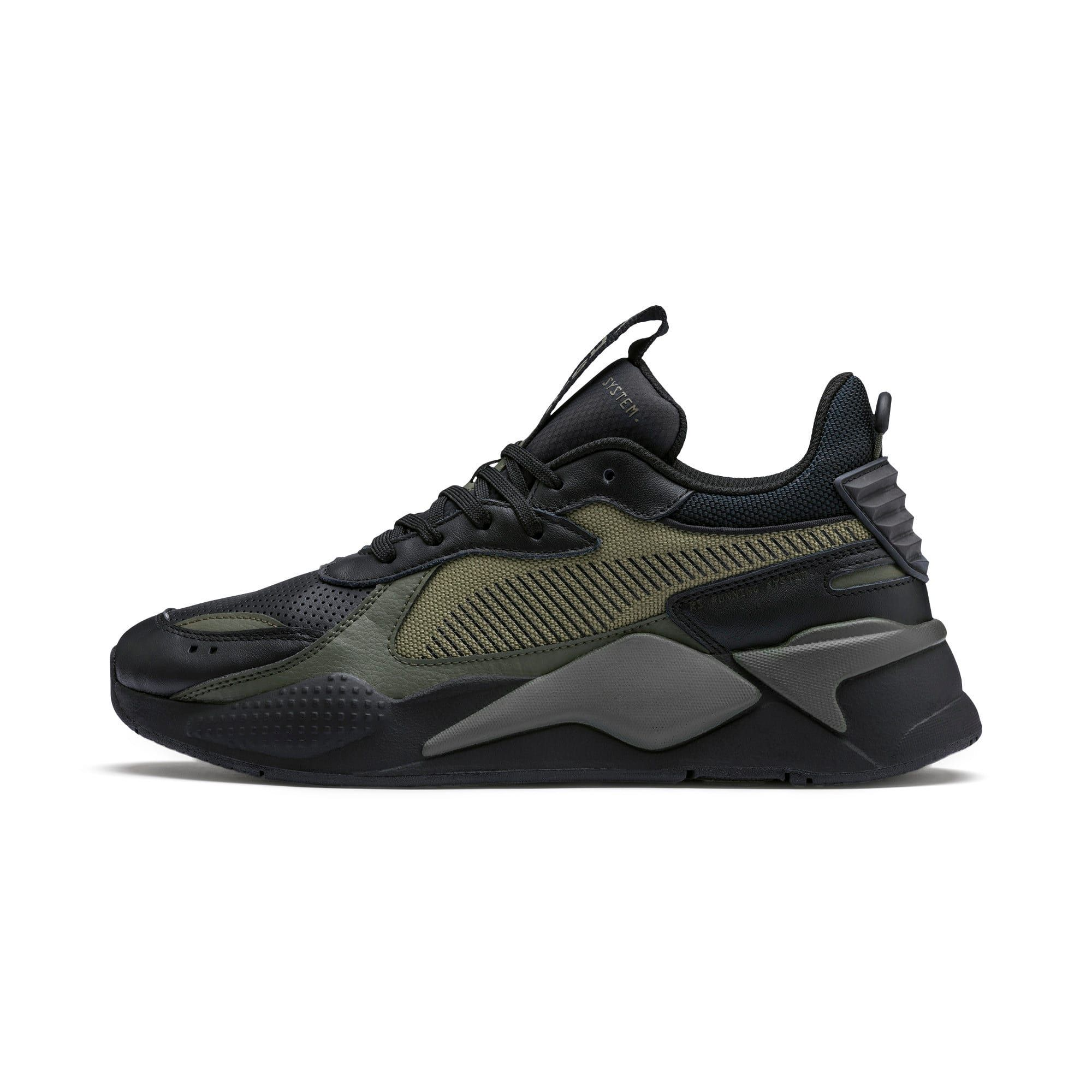 PUMA Rs-X Winterised Trainers in Black/Burnt Olive size 10.5 ...