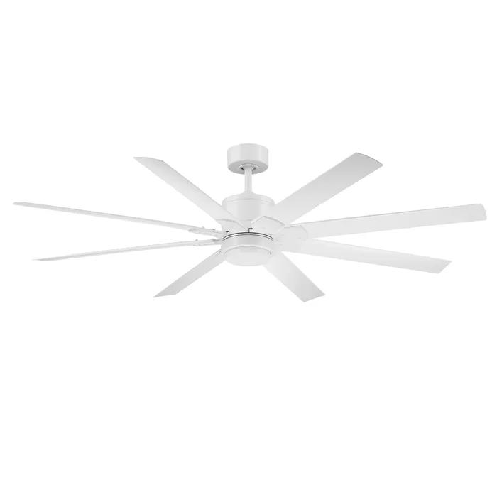 Renegade 8 Blade Outdoor Smart Ceiling Fan With Remote Light Kit Included In 2020 Ceiling Fan With Remote Ceiling Fan Modern