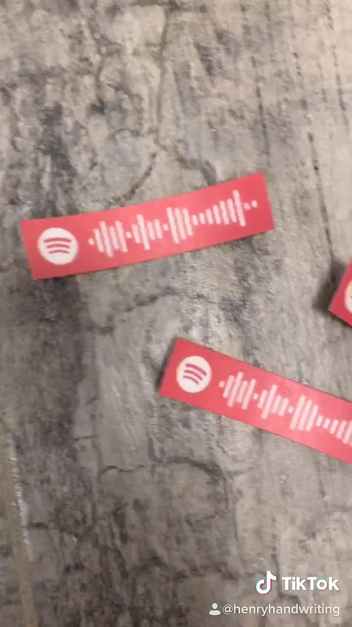 Spotify Code Stickers -   diy Tumblr gifts
