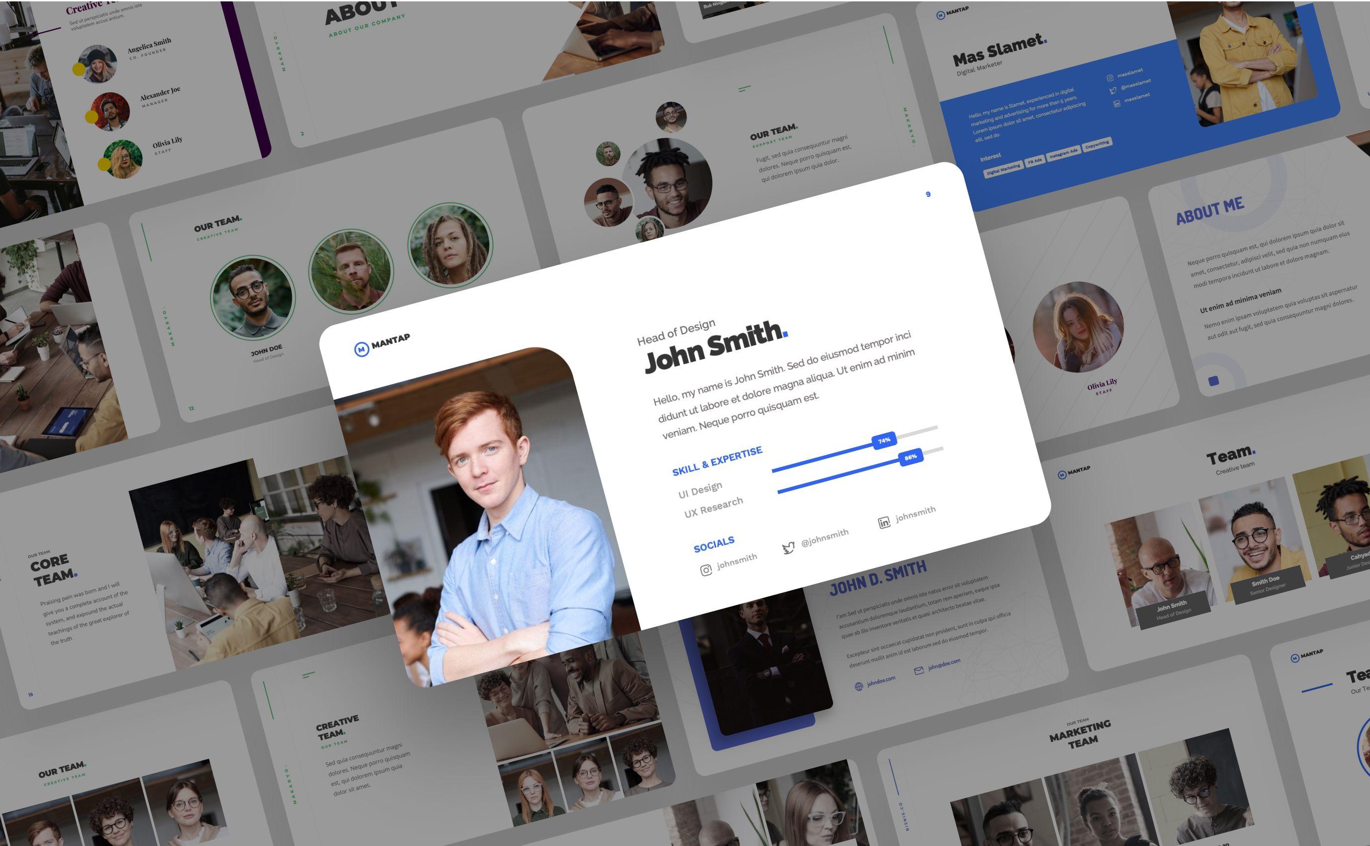 Kreevppt I Will Design Stunning Personal Cv Profile Power Point Presentation For 5 On Fiverr Com