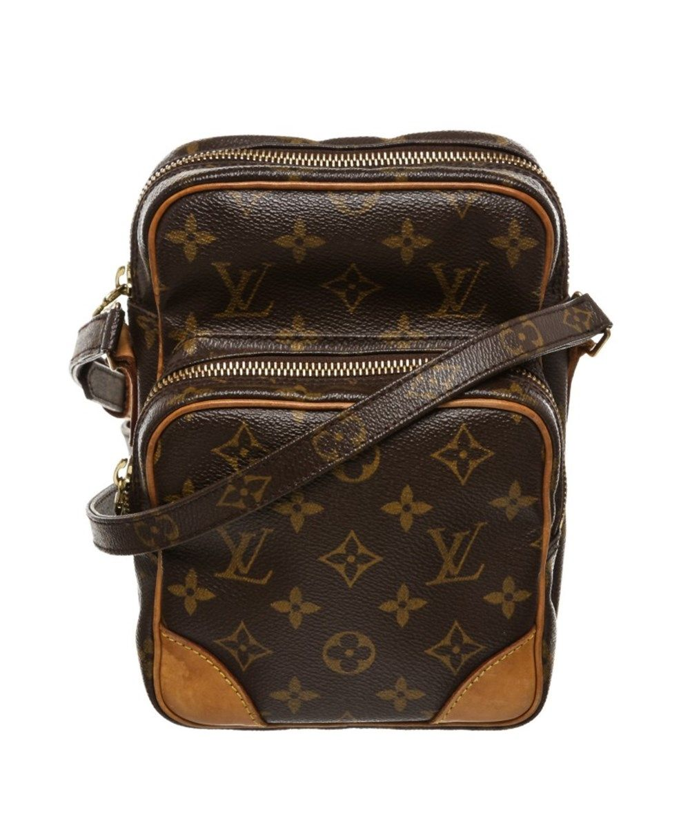 331630c0fd9 LOUIS VUITTON Pre Owned - Louis Vuitton Monogram Canvas Leather Amazon  Crossbody Bag .