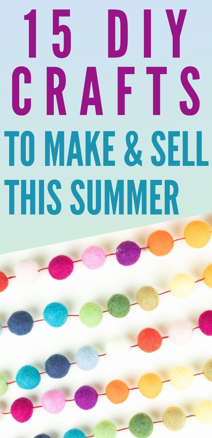15 DIY Crafts to Make And Sell