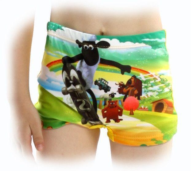 Boy's Beach swimming trunks