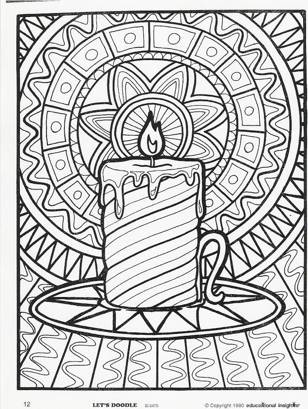 More Let\'s Doodle Coloring Pages! | Adult Coloring Therapy-Free ...