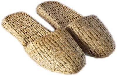 Asian Shoes Woven Straw Slippers Straw Slippers Asian Shoes