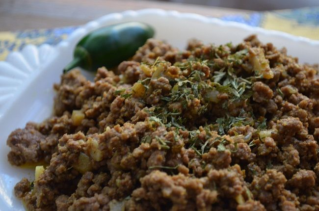 Delicately Spiced Ground Beef My Halal Kitchen By Yvonne Maffei Global Cuisine Made Halal Halal Recipes Indian Spices Food