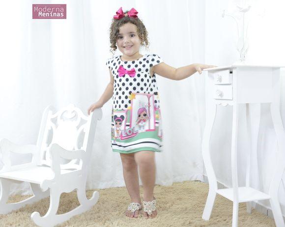 8e8c1d31fa Vestido infantil das mínis bonecas Lol surprise - Fashion no Elo7 ...