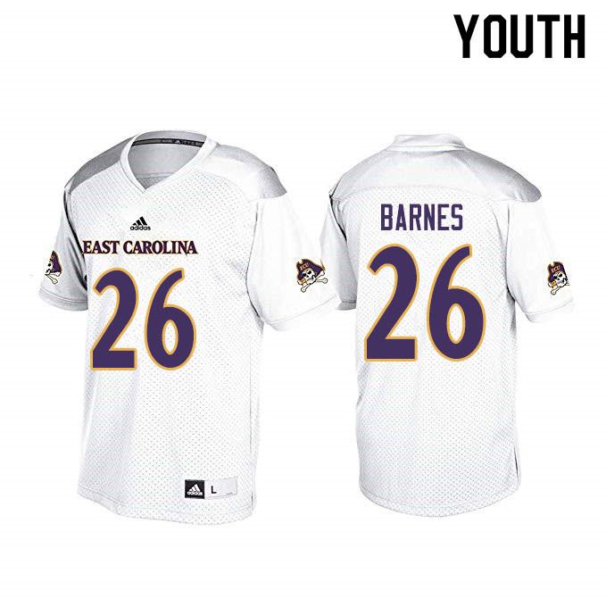 Youth #26 Asa Barnes ECU Pirates College Football Jerseys ...
