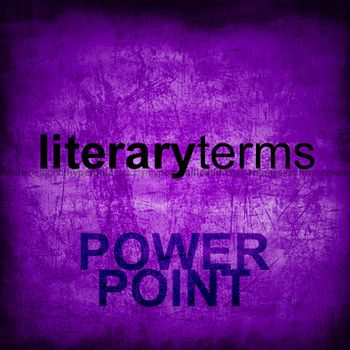 Literary Terms Powerpoint Free Literary Terms Teachers