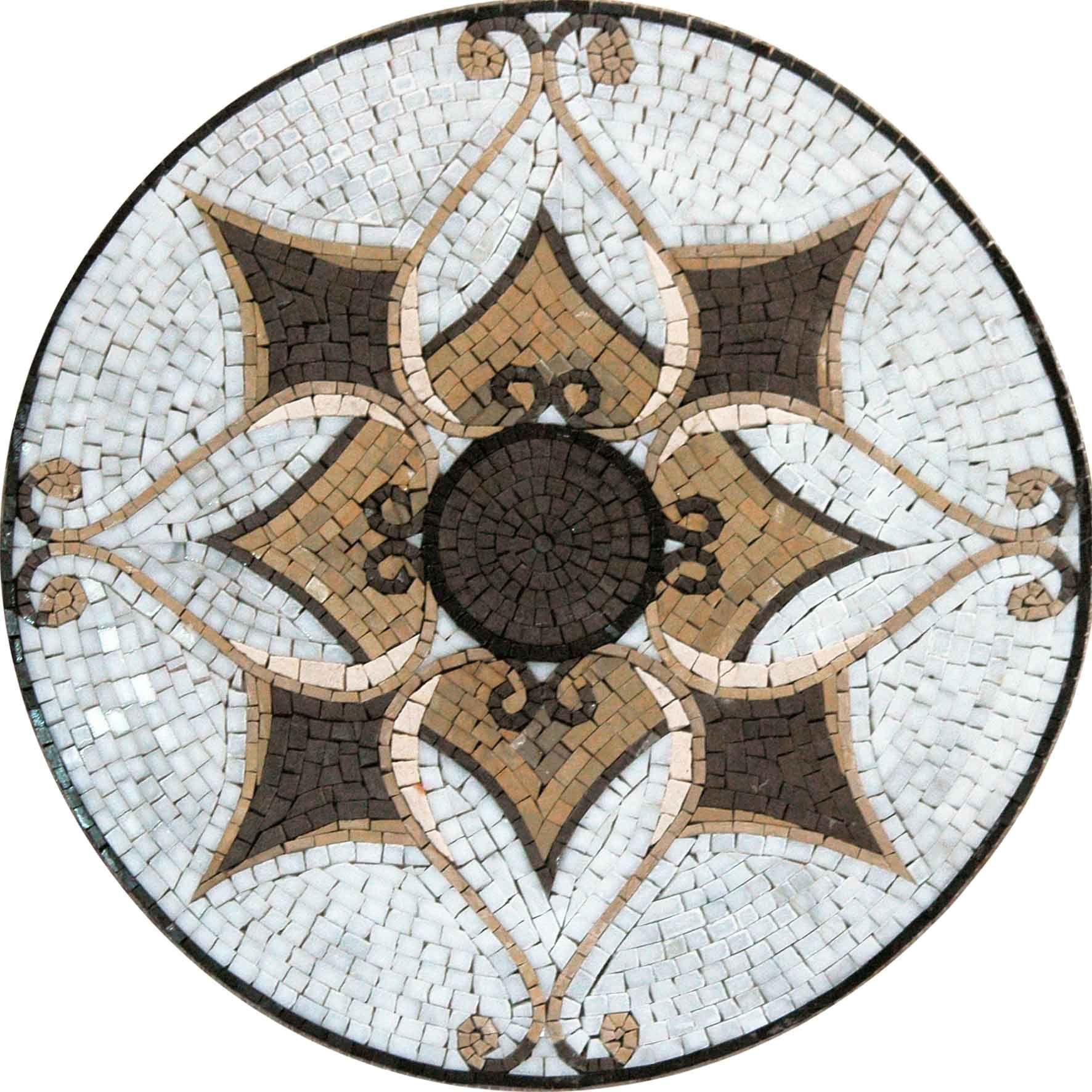 mosaic tile art medallion tangiers kitchen mosaic mosaic