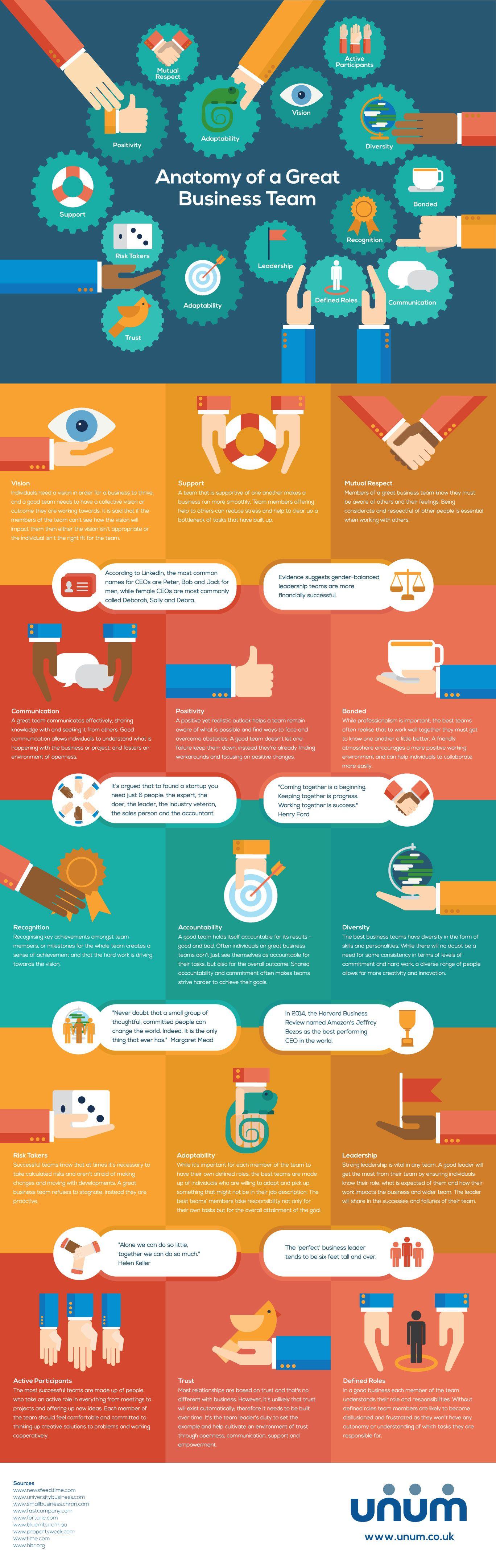 15 Characteristics of Extraordinary Teams (Infographic) | Anatomy ...