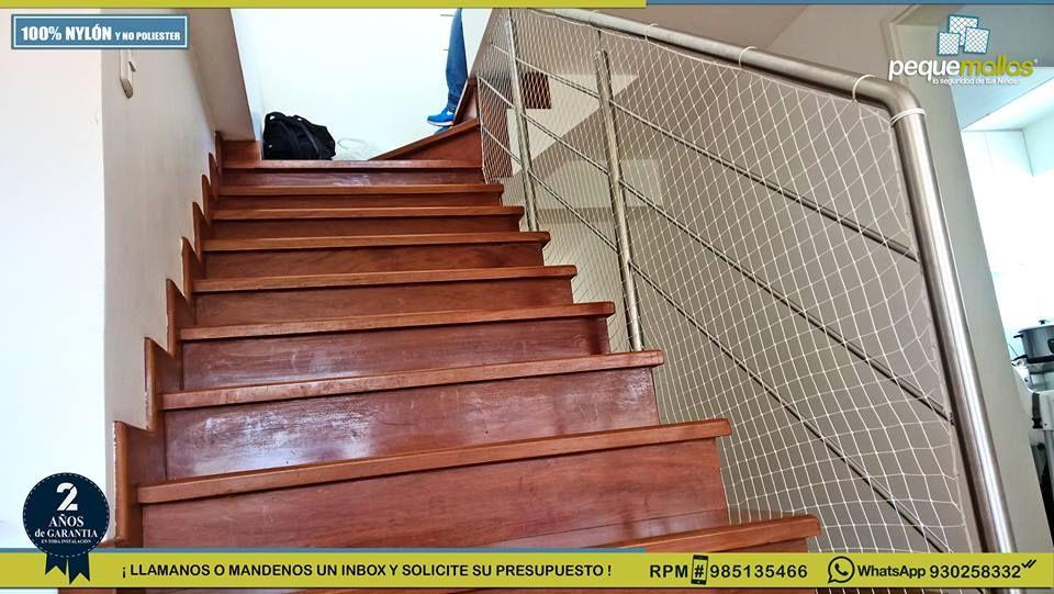 Protege A Tus Niños Sin Alterar La Estructura De Tu Escalera Barandas Casas Escalera