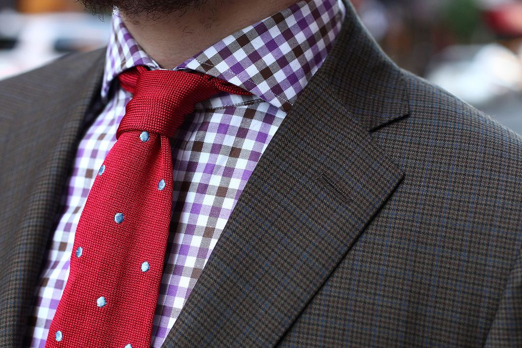 Southwick for Michael Kuhle Brown Houndstooth Sportcoat, Ashland for ...