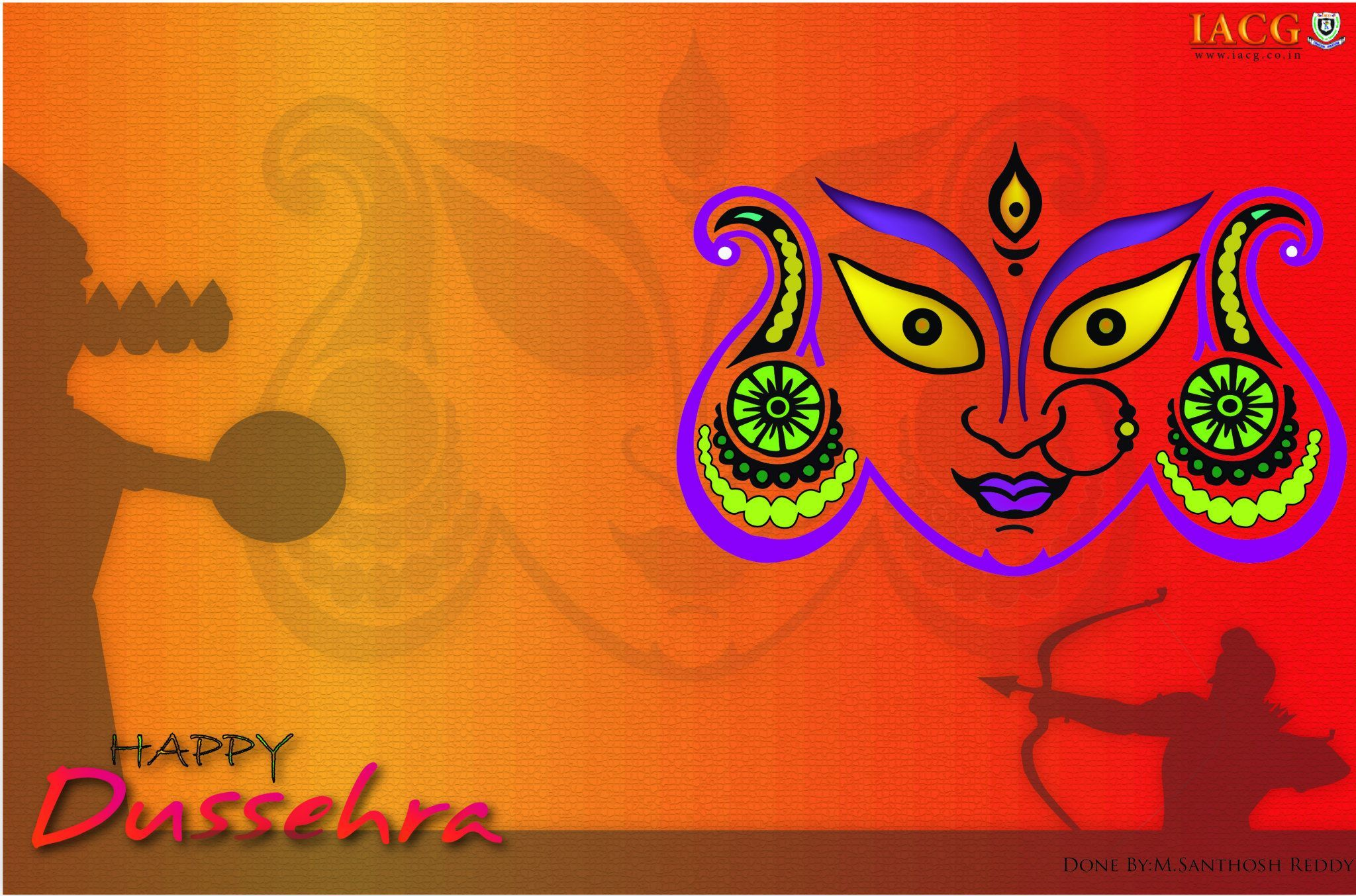 Dussehra greeting cards done by iacg students dusshera greeting dussehra greeting cards done by iacg students dusshera greeting cards done by iacg students pinterest dussehra greetings kristyandbryce Images