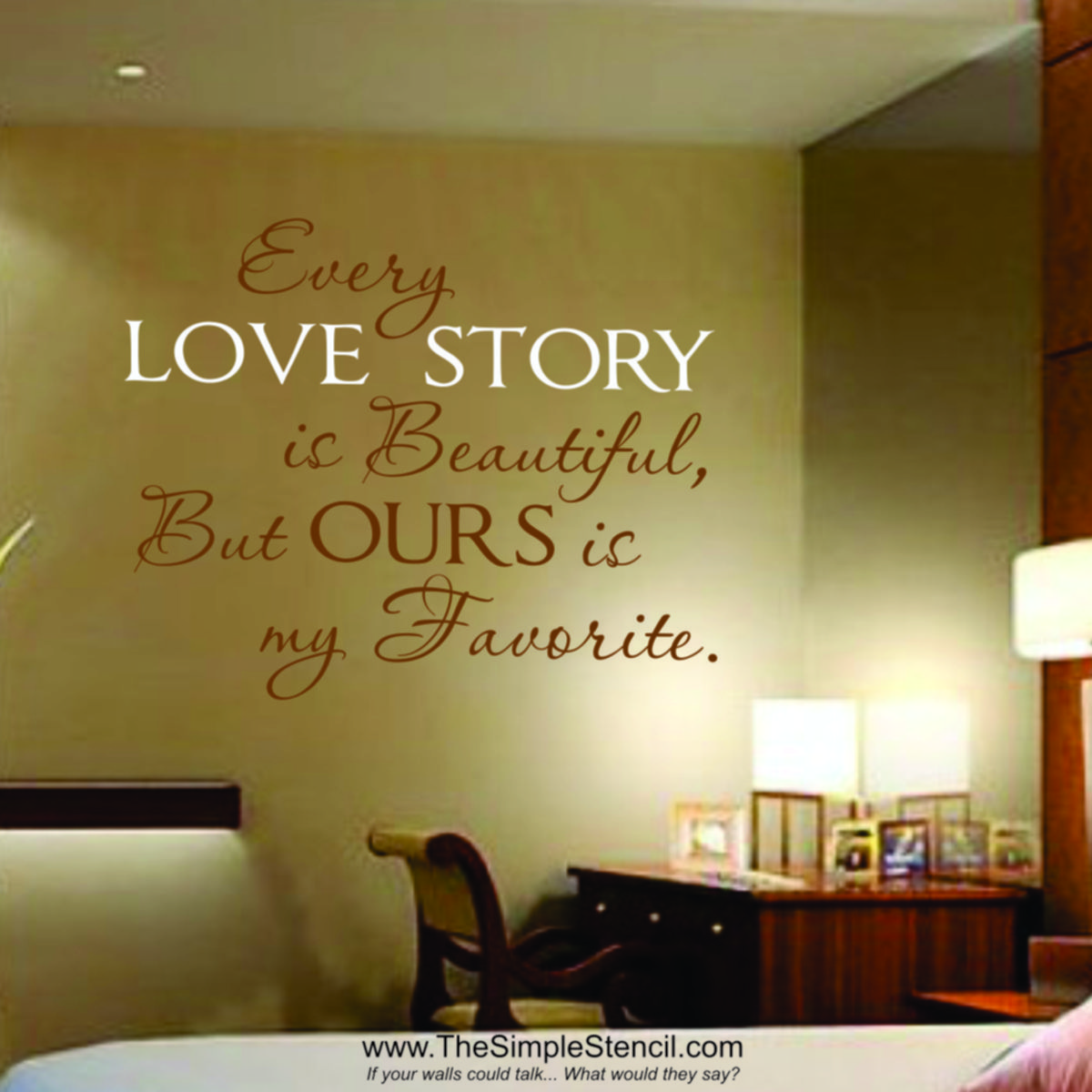 Every Love Story Is Beautiful | Pinterest | Romantic messages ...