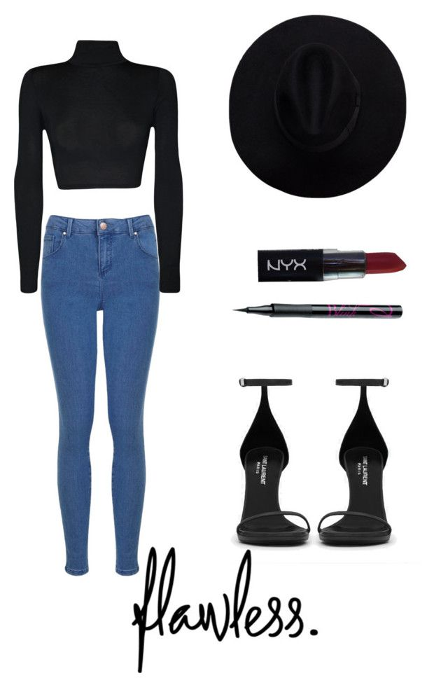 """""""...."""" by loveme-143 ❤ liked on Polyvore featuring NYX, Yves Saint Laurent, Barry M, Miss Selfridge, WearAll, women's clothing, women, female, woman and misses"""