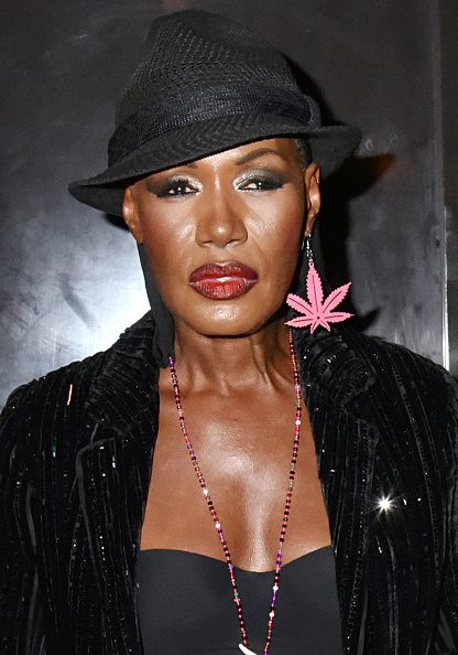 Grace Jones At 68 Years Old Now And Then Singers