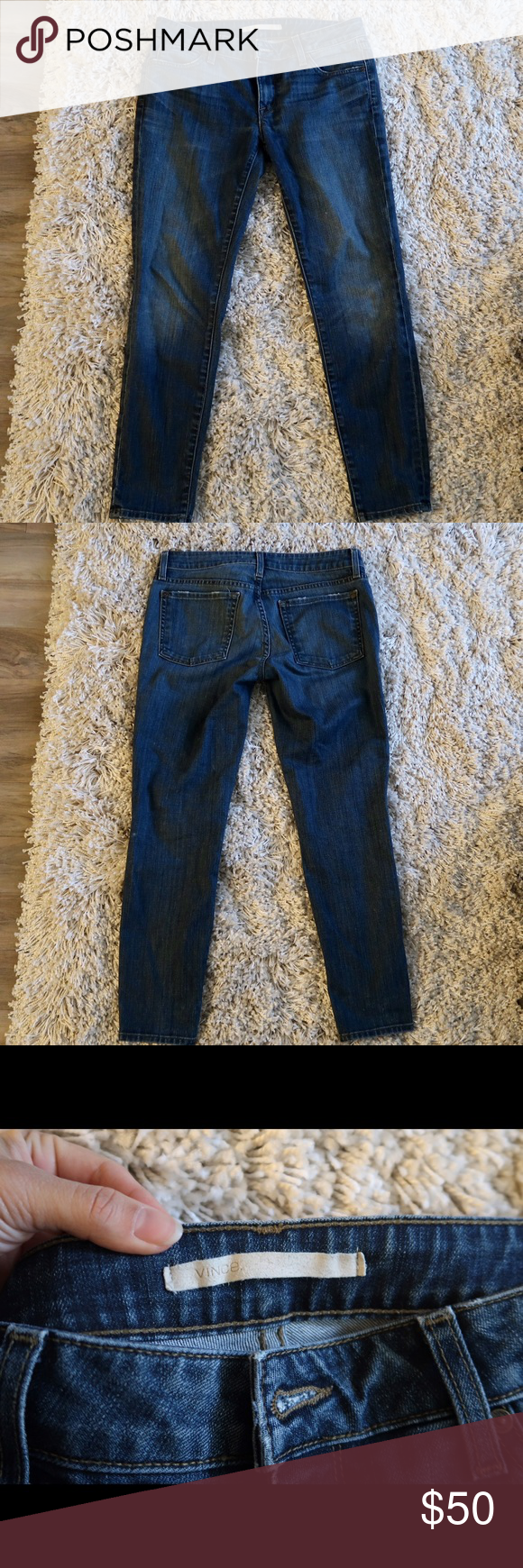 Vince Jeans Great condition, no wears and tears! Amazingly stylish!  Open to offers 🙂 Vince Jeans Straight Leg