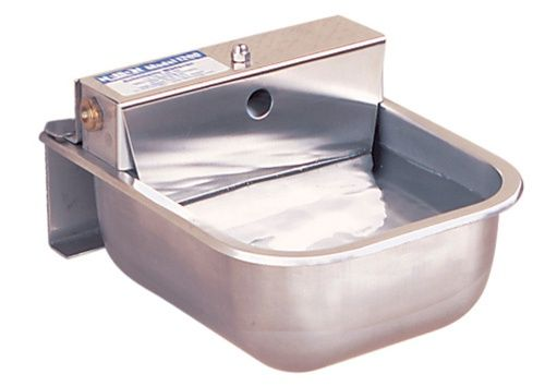 Nelson 1200 Series Stainless Steel Kennel Waterer Dog