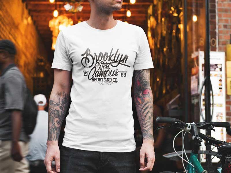 Download Men T Shirt Mockup Psd Free Shirt Mockup Tshirt Mockup Clothing Mockup