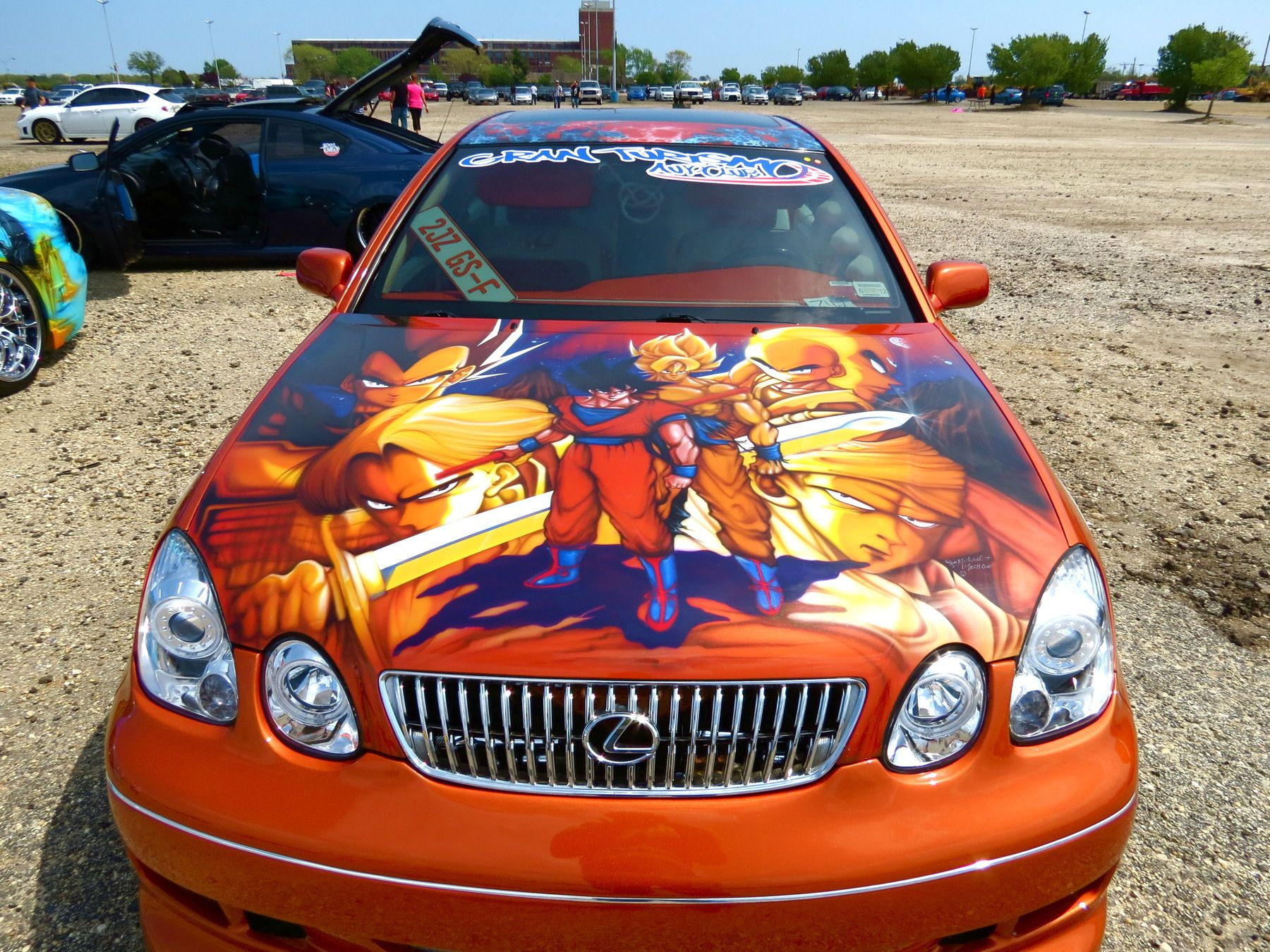 Oh sweet god dragon ball z lexus find this pin and more on vehicle wraps