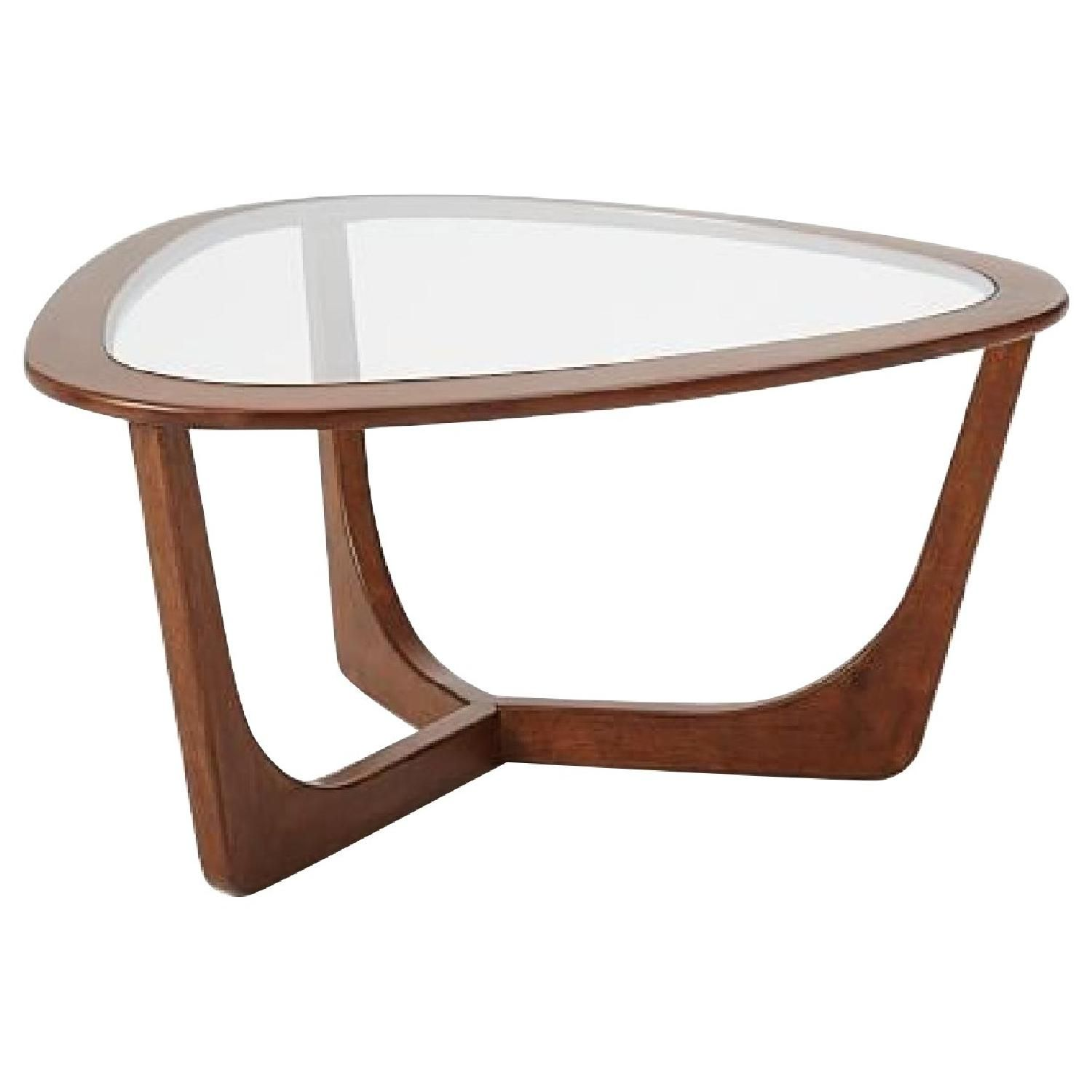 This Is A West Elm Mitchell Coffee Table For 180 00 From West Elm Site Strike A Cord The Glass Top Coffee Table West Elm Coffee Table Modern Coffee Tables