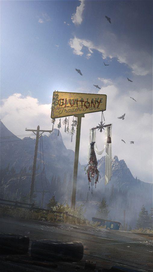 Far Cry 5 Concept Art Crying Far Cry 5 Concept Art