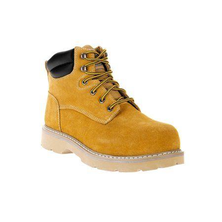 430a5bb3013 Brahma Men's Bravo II 6 inch Steel Toe Work Boot, Size: 7.50, Beige ...
