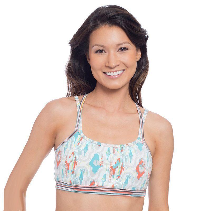 Soybu Bra: Levity Low-Impact Sports Bra, Women's, Size: Large, Blue Other
