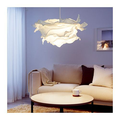 KRUSNING Pendant lamp shade, white | House Party | Pendant ...