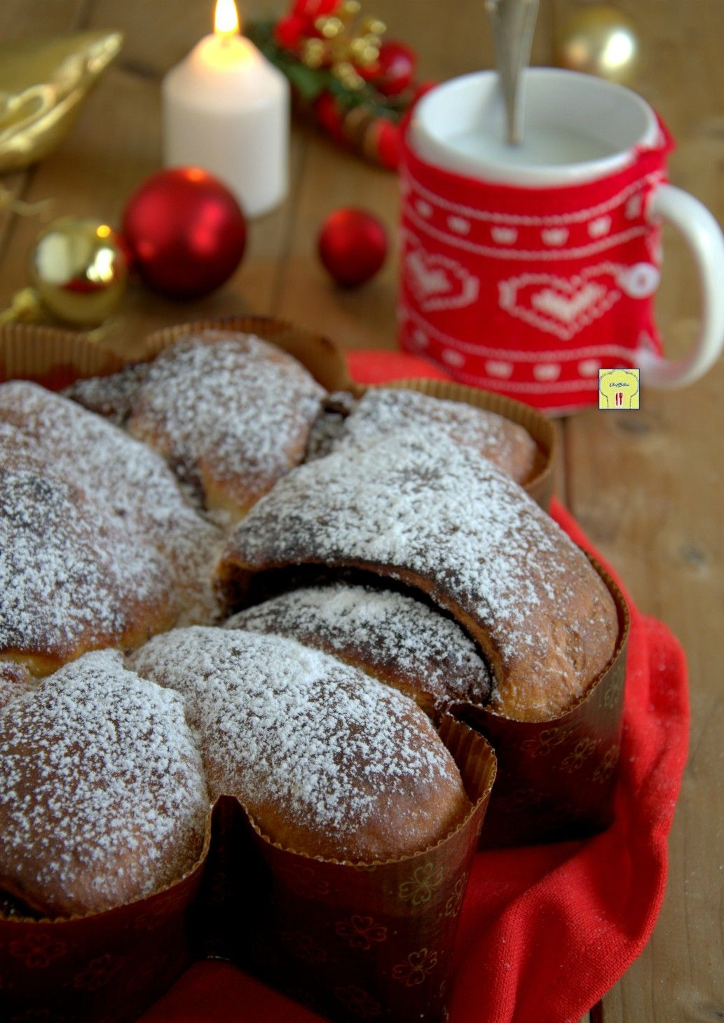 Ricetta Stella Di Natale.Panbrioche Stella Di Natale Food Recipe Ricetta Natale