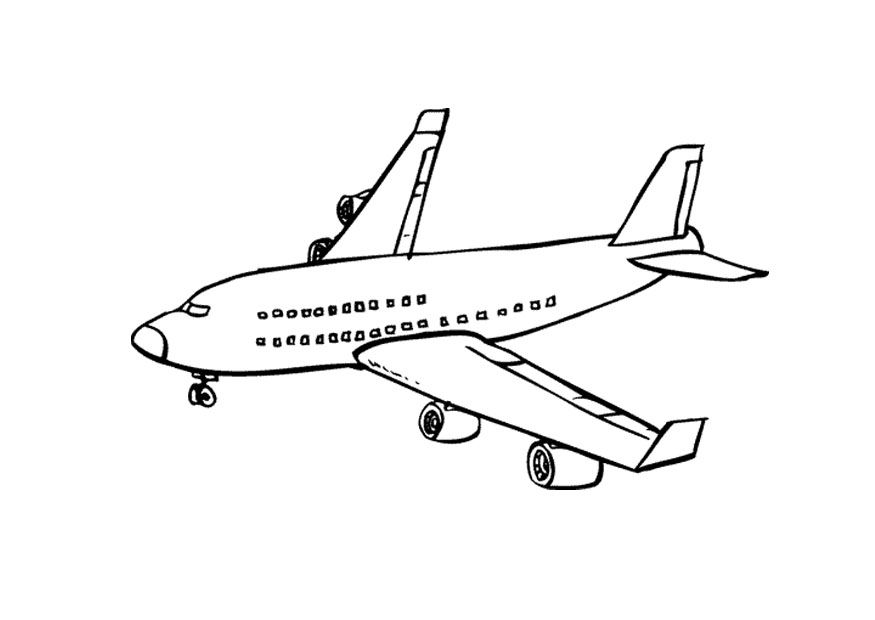 Free Printable Airplane Coloring Pages For Kids   Pinterest ...