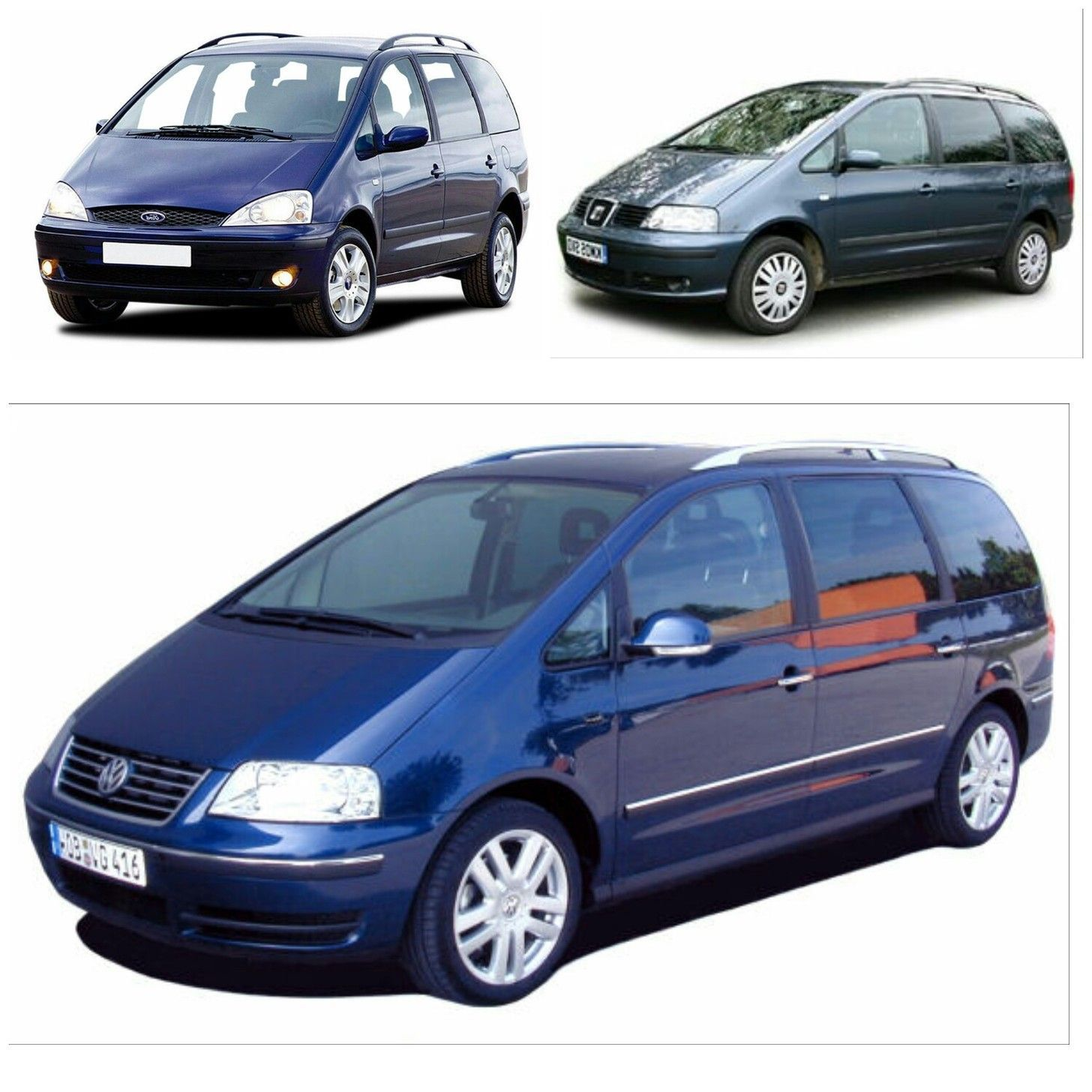 Ford Galaxy Top Left Seat Alhambra Top Right Volkswagen