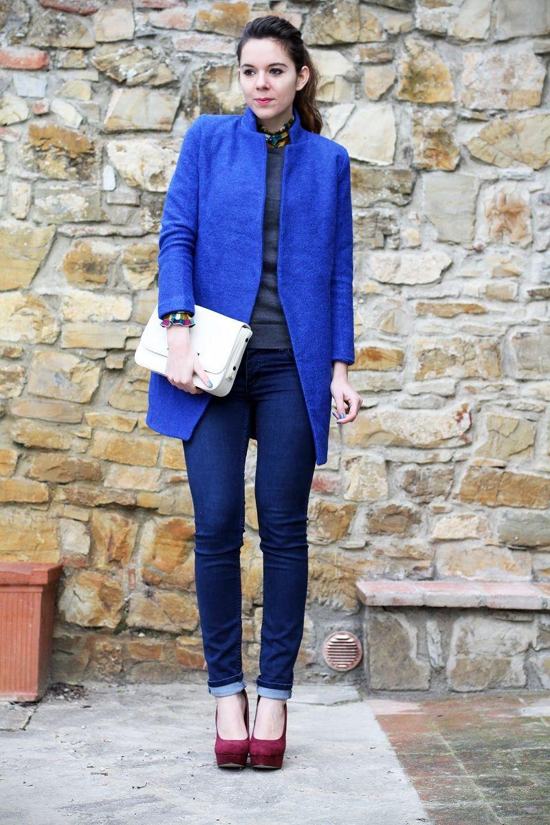 Un cappotto blu elettrico ed un ritorno a Firenze non poi