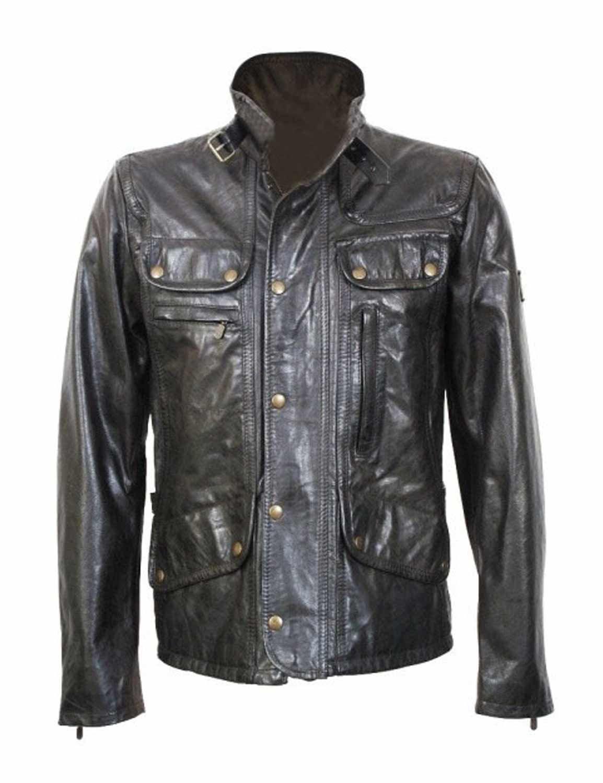 Supernatural Dean Winchester Black Jacket Season 7 Leather Jacket Jackets Supernatural Dean Winchester [ 1500 x 1154 Pixel ]
