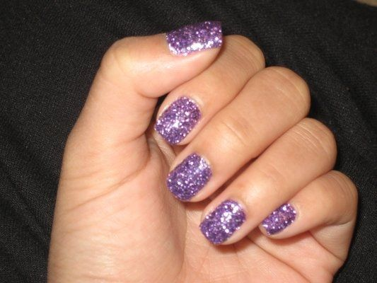 Los Angeles Kings Gel Nail Designs Am Obsessed With Glitter Nails Also Known As