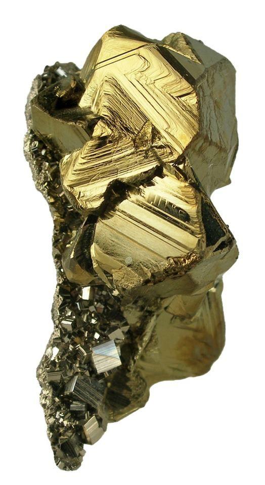Chalcopyrite Pyrite (Fools Gold)
