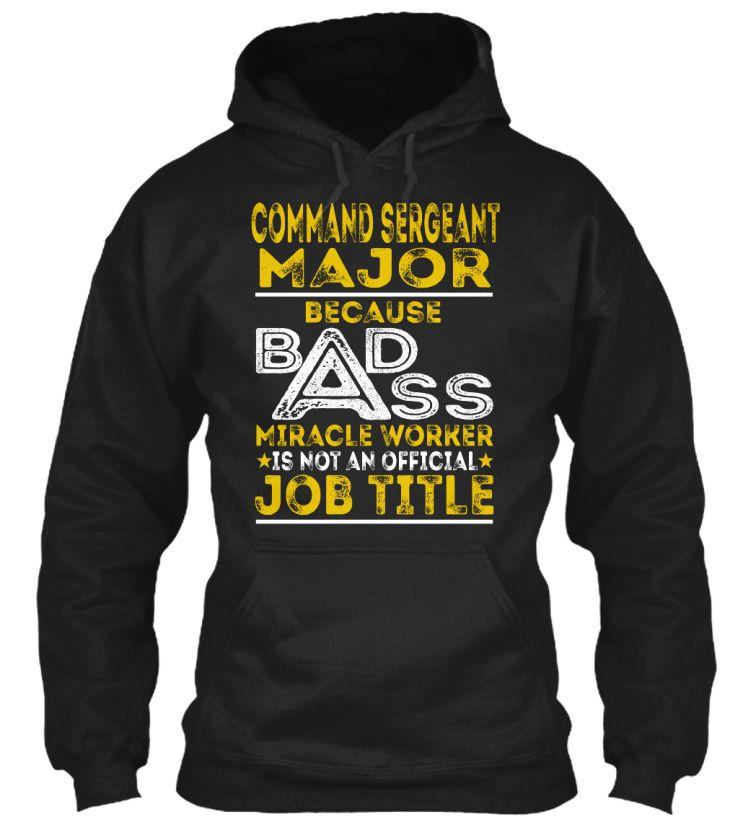 Command Sergeant Major - Badass #CommandSergeantMajor