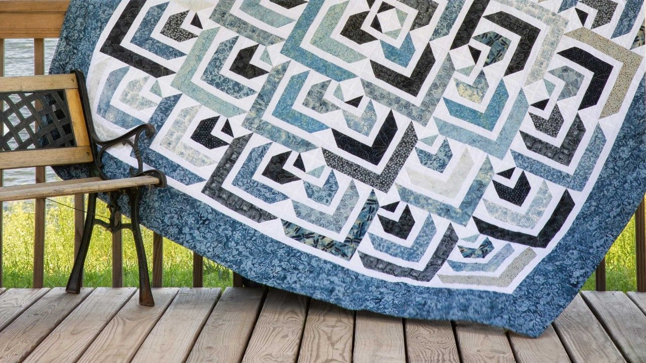 """Make a """"North Star"""" Quilt with Jenny! Missouri star"""