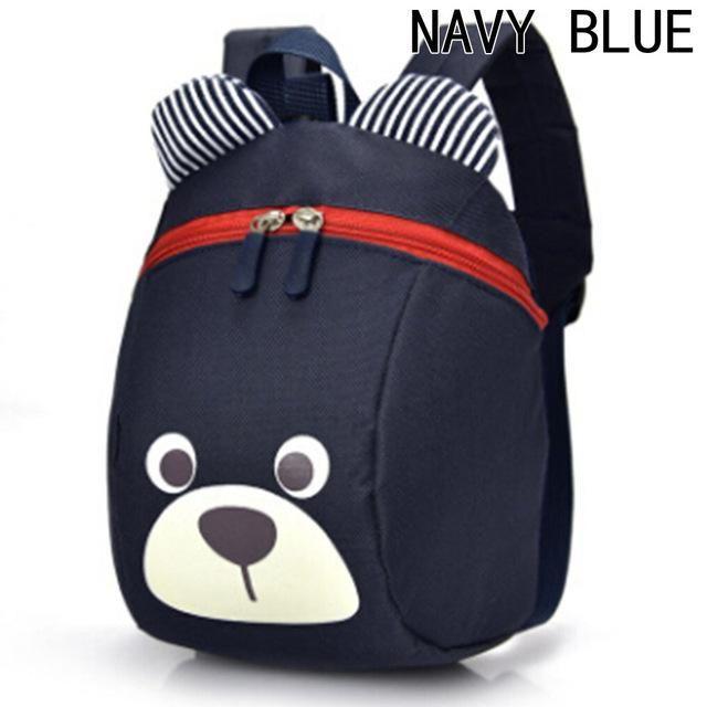 aaba0deb2855 NEW Cute Little Bear Children s Backpack Lovely cartoon animal School Bags  For Boys Girls kindergarten bag baby bags 4 colors