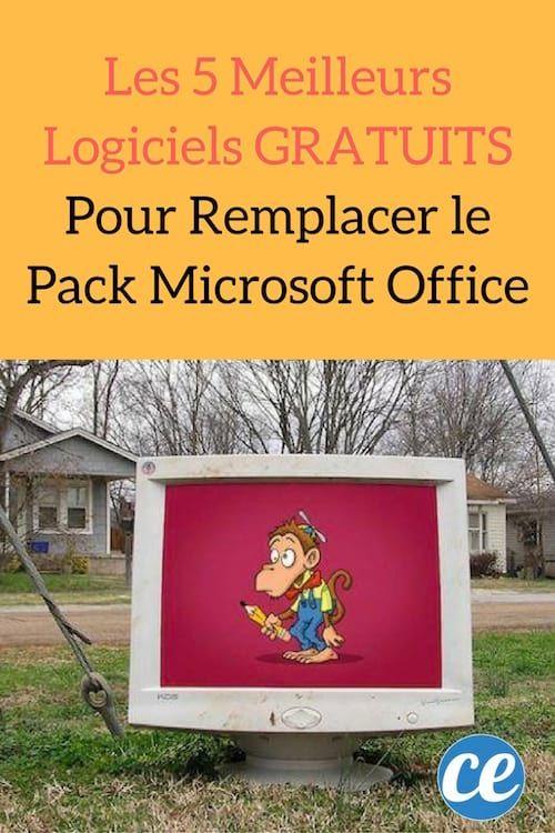 les 5 meilleurs logiciels gratuits pour remplacer le pack microsoft office