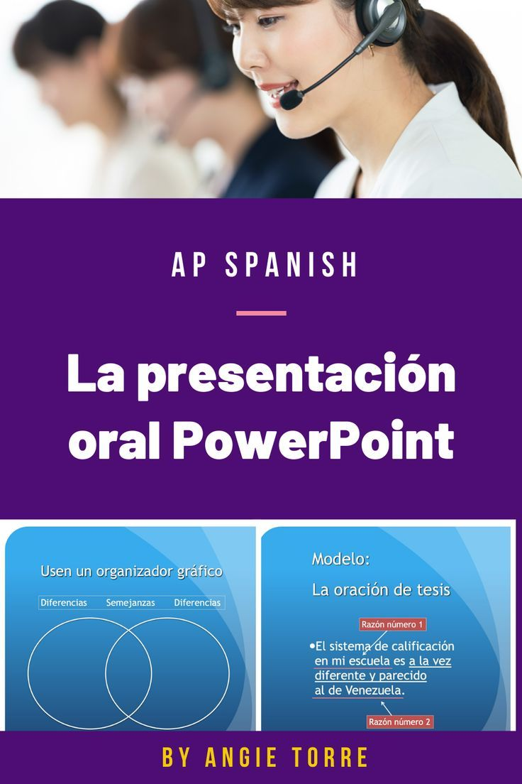 Master thesis in spanish