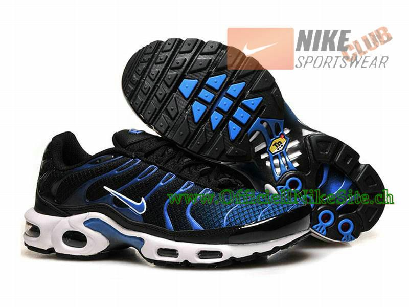 newest collection 34f40 ec9ee Nike Air Max Tn RequinTuned 2015 Chaussures Nike Officiel Pour Homme  NoirBleu