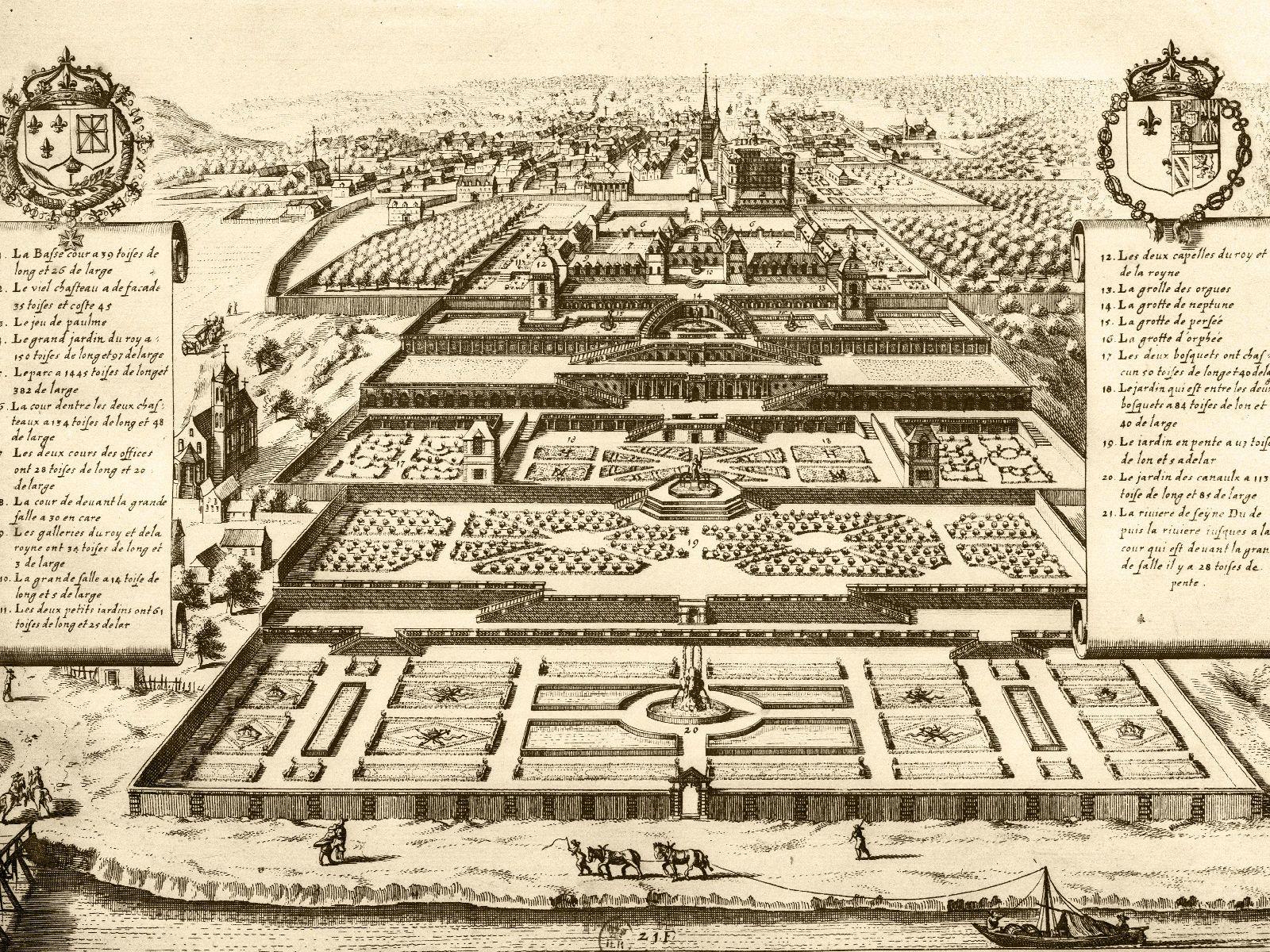 Saint Germain En Laye Saint Germain Chateau France Bibliotheque Nationale De France