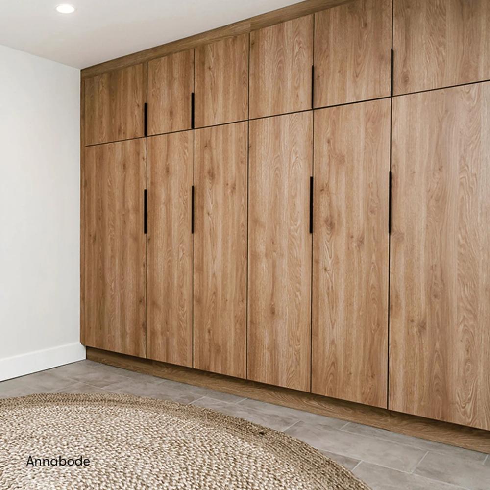 Sektion Cabinets With Semihandmade Doors To Supplement Pantry Storage In 2020 Ikea Kitchen Cabinets Bedroom Cupboard Designs Ikea Bedroom Storage